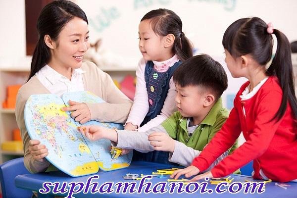 Những kỹ năng cần thiết cho cô giáo mầm non tương lai.