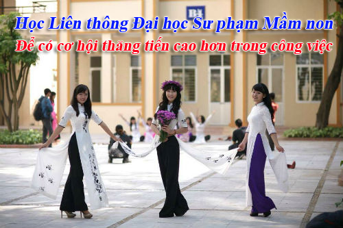hoc lien thong dai hoc chinh quy 2016 nganh mam non de co co hoi nghe nghiep cao hon